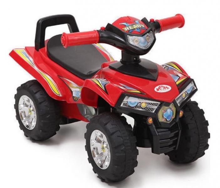 Moni Detské odrážadlo, odrážadlo ATV 551 - červené