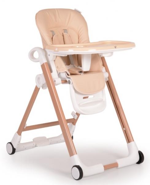 Cangaroo Detská jedálenská stolička Brunch - béžová
