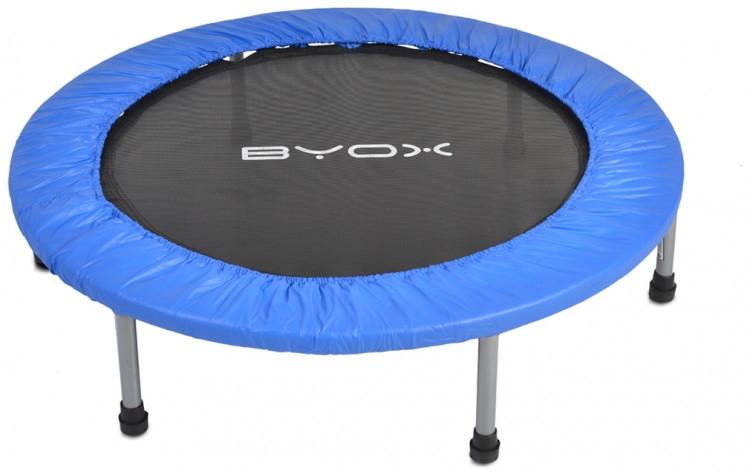 Byox Detská skákacia trampolína 96 cm - modrá