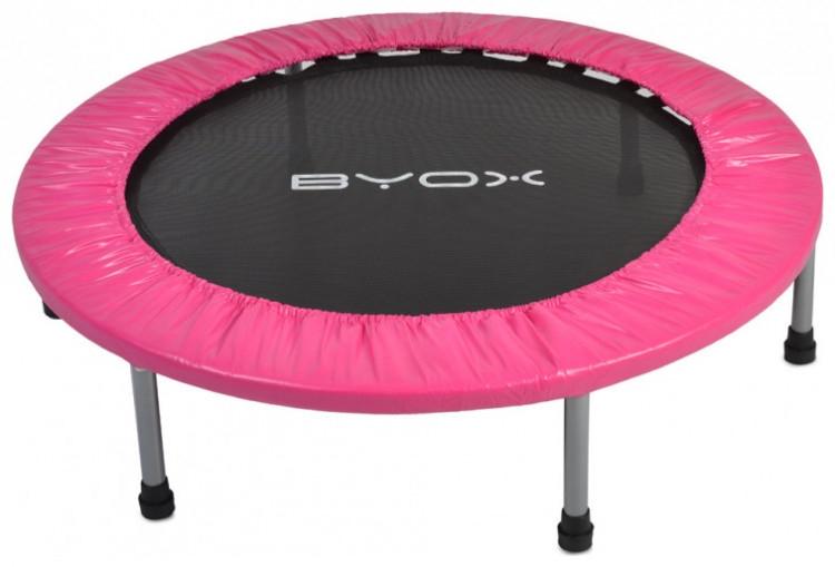 Byox Detská skákacia trampolína 114 cm - růžová