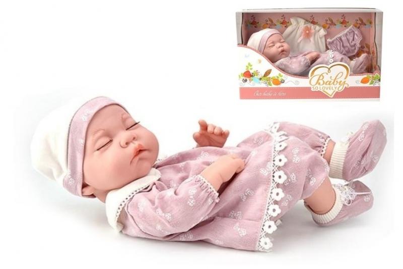 Tulimi Luxusné bábika/bábätko Baby So Lovely - ružová