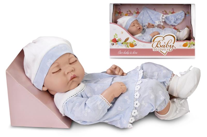 Tulimi Luxusné bábika/bábätko Baby So Lovely - modrá