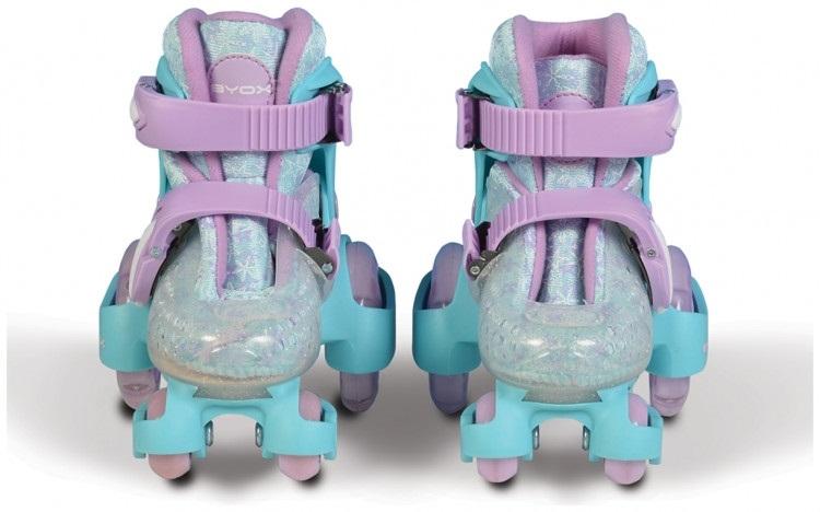 Moni Kolieskové korčule Little Beetle Frozen, vel.  XS (26-29), modré