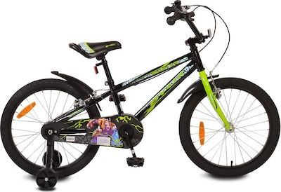 """Byox Detský bicykel Master Prince 20"""", čierne"""