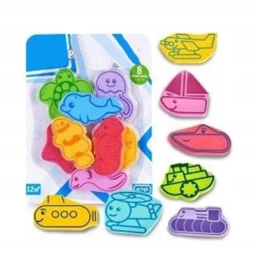 Tulimi Penové hračky do kúpeľa - 8 ks