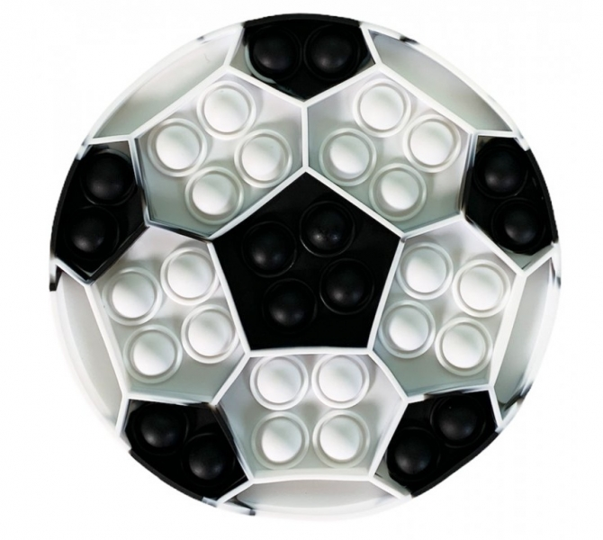 Pop It - Praskající bubliny, silikonová antistresová spol. hra, Lopta