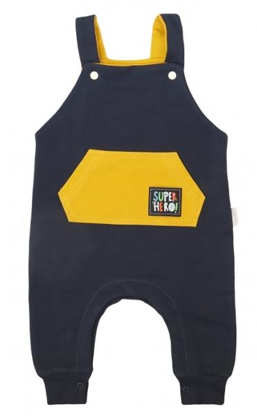 Mamatti Detské laclové nohavice Hero - granát, veľ. 74-#Velikost koj. oblečení;74 (6-9m)