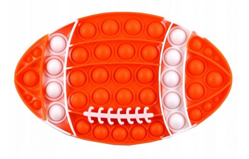 Pop It - Praskající bubliny, silikonová antistresová spol. hra, Ragby