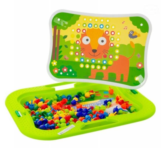 Tulimi tvorivá hra Mozaika - zelená