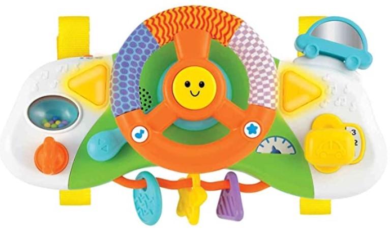 Winfun Interaktívna hračka - Volant, škola bezpečnej jazdy