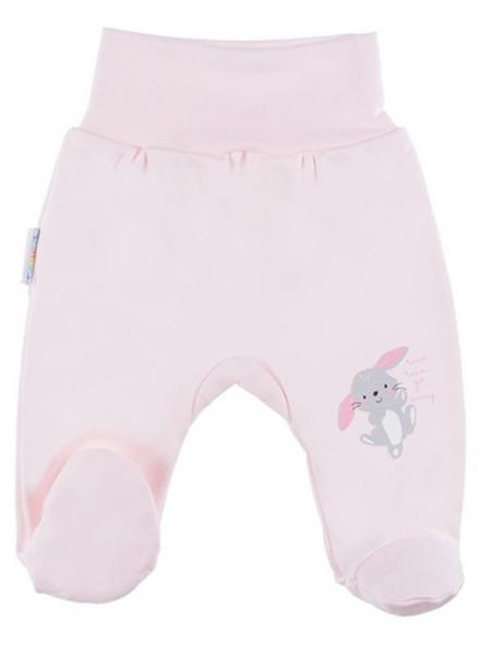 EEVI Dojčenské polodupačky Family - Zajačik, ružové, veľ. 56-#Velikost koj. oblečení;56 (1-2m)