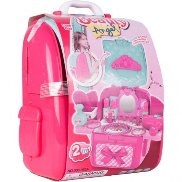 Tulimi Detská toaletná sada v batohu Beauty Angel - ružový