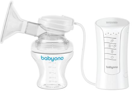 BabyOno Elektrická odsávačkaNatural Nursing 3v1+ Vložky do podprsenky Zadarmo