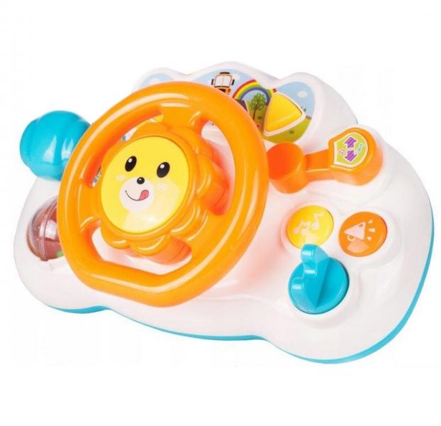 Tulimi Interaktívna hračka - Volant, Lev - oranžový