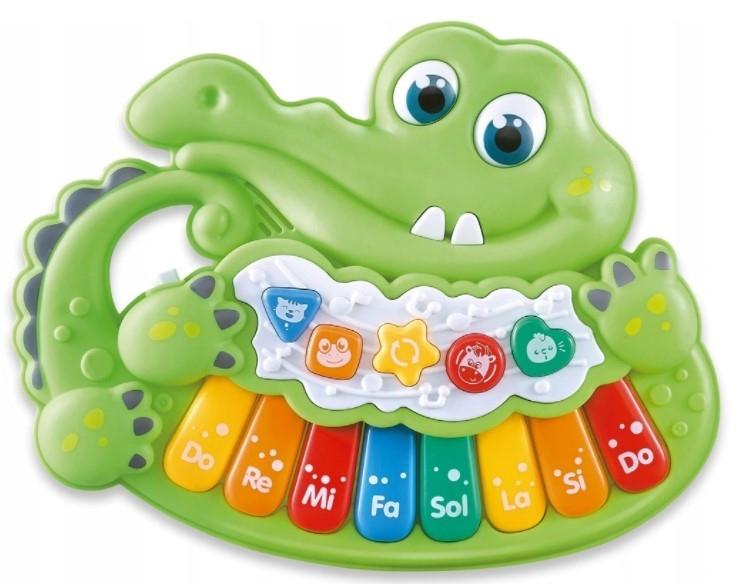 Piánko, Krokodýl, zelená