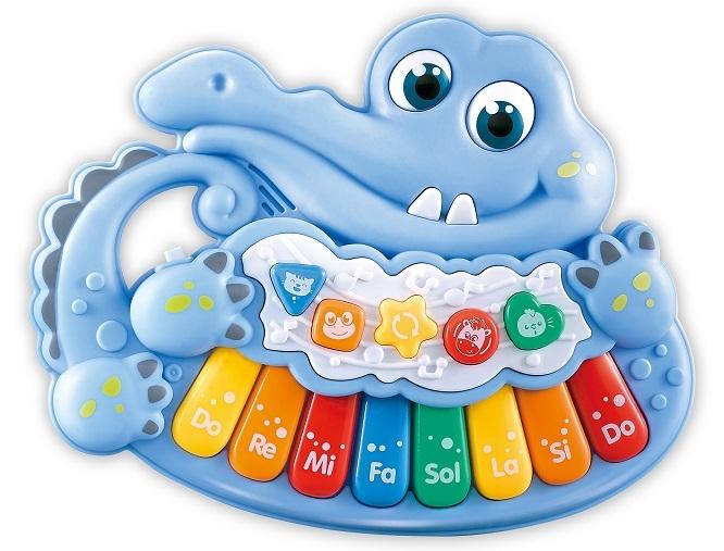 Piánko, Krokodýl, modré