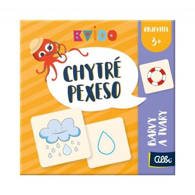Albi Chytré pexeso - Objaviteľ, farby a tvary