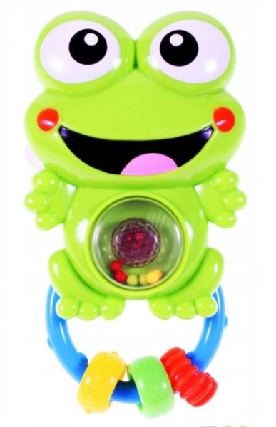 Tulimi hrkálka, hryzátko so zvukmi a svetlom, Žabka