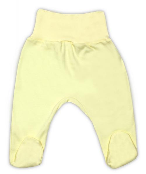 Bavlnené polodupačky - žlté