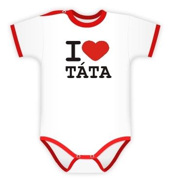 DEJNA Body Kr. rukáv I Love Tata, vel´. 74, K19