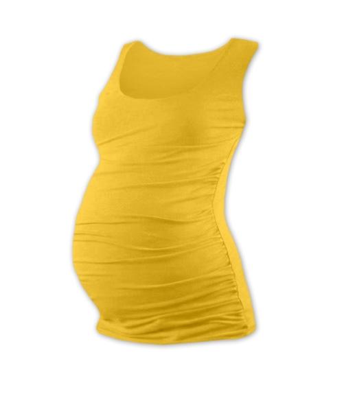 JOŽÁNEK Tehotenský top JOHANKA - žltooranžová