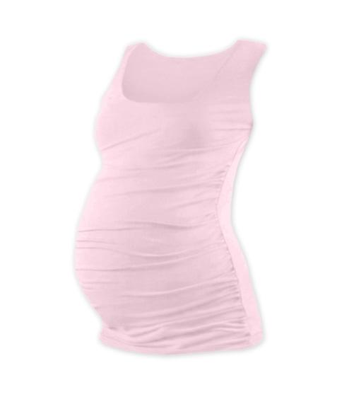 Tehotenský top JOHANKA - sv. ružová