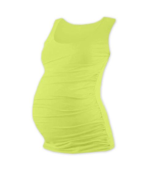 Tehotenský top JOHANKA - sv. zelená