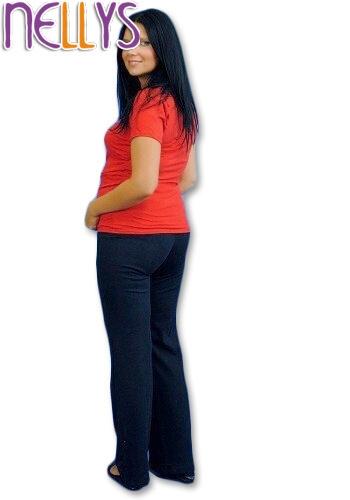 Tehotenské tepláky - granát-L
