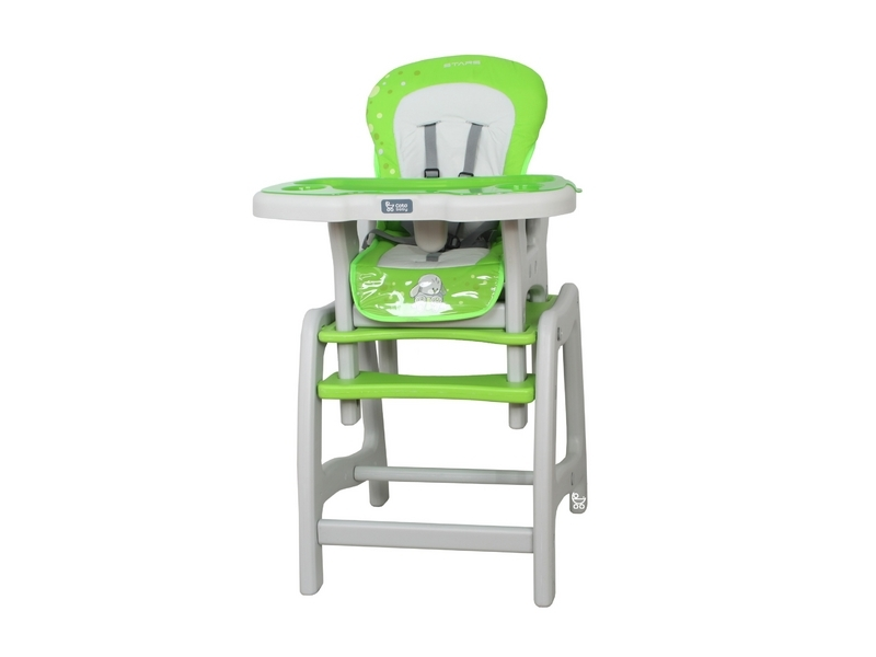 Jedálenský stolček Coto Baby STARS - green