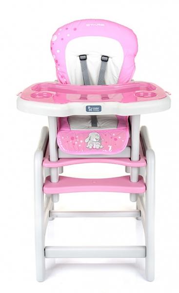 Jedálenský stolček Coto Baby STARS - pink