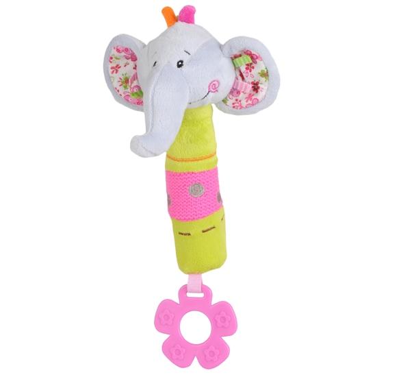 BabyOno Edukačná hračka Baby Ono - pískací - Slon