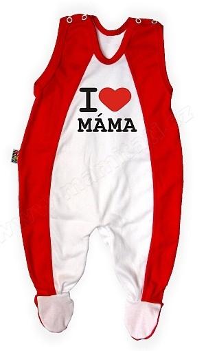DEJNA Dupačky Kolekcia - I love Mama, vel. 3/6m-#Velikost koj. oblečení;3/6měsíců