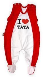 Dupačky Kolekcia - I LOVE TATA