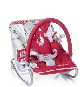 4 BABY Lehátko Jungle - červené