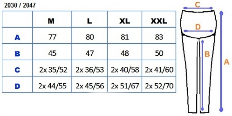 Tehotenské farebné legíny 3/4 dĺžky - čierna