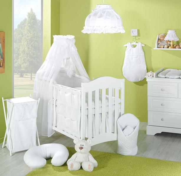 Luster do detskej izbičky - Srdiečko biele