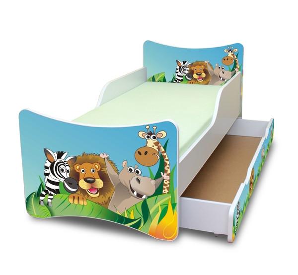 Detská posteľ a šuplík / y, 140x70