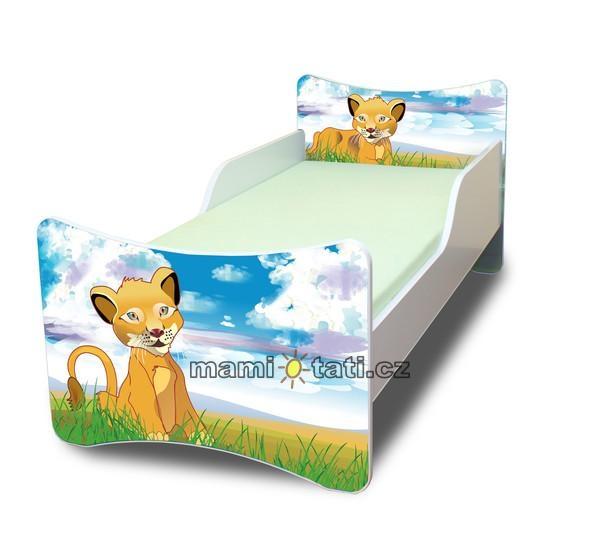 Detská posteľ Lvíček, 140x70