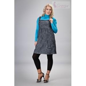 Elegantné šaty - granátový melírek