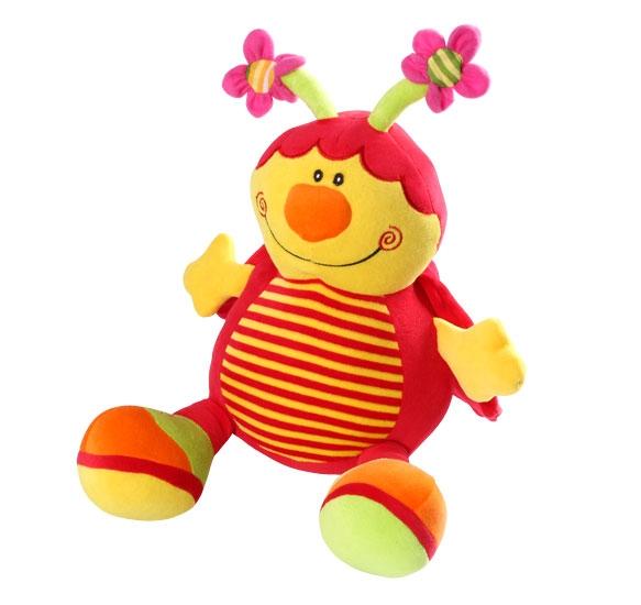 Edukačná plyšová hračka Baby Ono - Lienka