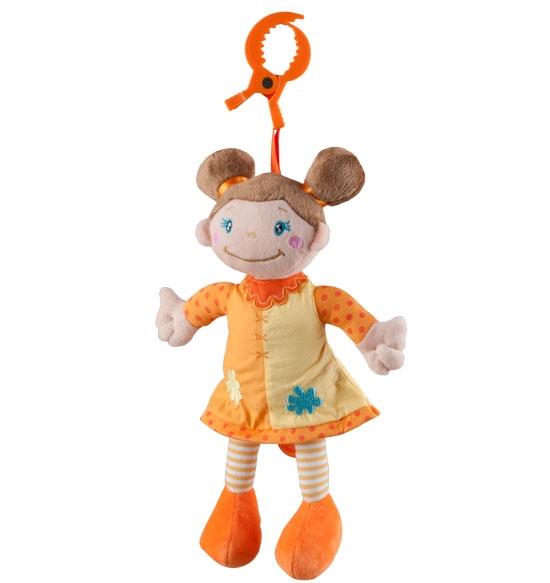 BabyOno Závesná hracie hračka HOLKA hnedovláska Baby Ono