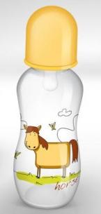 Fľaštička Akuku 0% BPA 0+ Horse