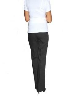 Elegantné teh. nohavice letné - čierne