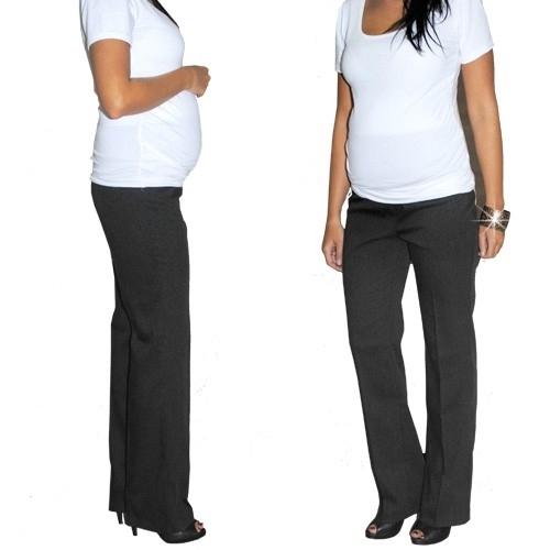 Elegantný teh. nohavice letné - čierne