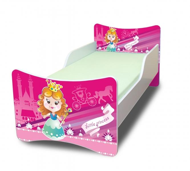 Detská posteľ Malá princezná, 140x70