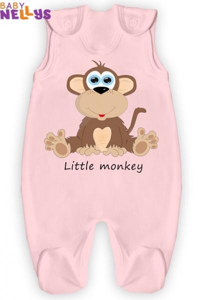 Dupačky Little Monkey - ružové