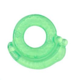 BabyOno Hryzátko gélové - Slimák - Zelené