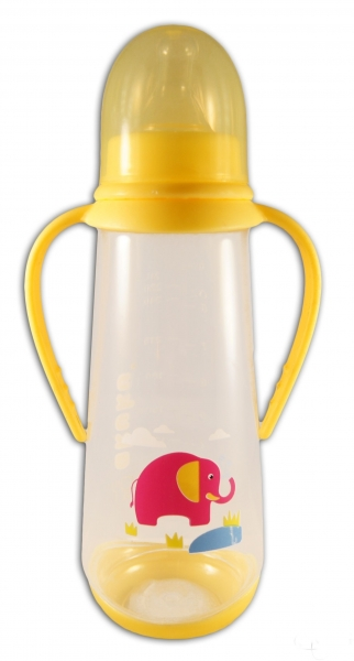 Fľaštička Akuku 250ml - žltá