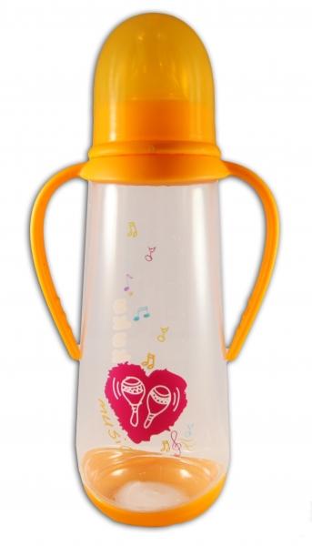 Fľaštička Akuku 250ml - oranžová