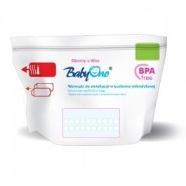 Vrecká do mikrovlnnej rúry k sterilizácii Baby Ono